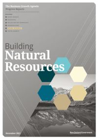 Business Growth Agenda: Building Natural Resources