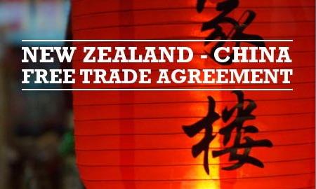 New Zealand China Free Trade Agreement Beehivet
