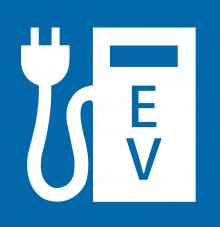 Electric Vehicle Charging Symbol