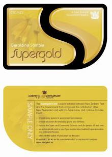 Supergold card for seniors unveiled beehivet the supergold card will provide meaningful discounts across a range of services and products to seniors colourmoves